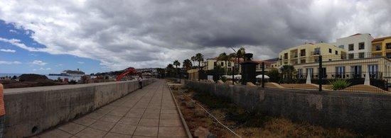 Porto Santa Maria Hotel: Major harbour building works - May 2013