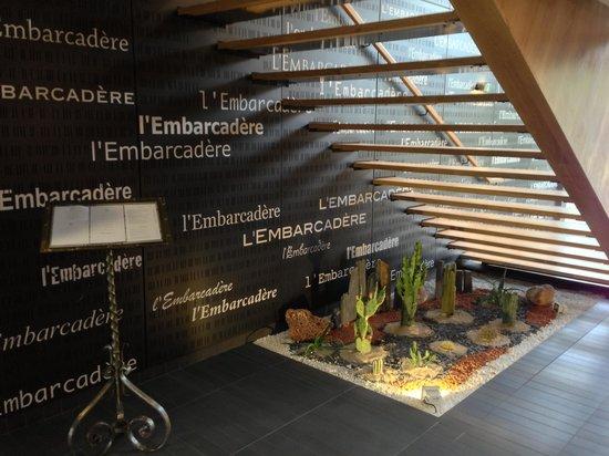 Hotel Restaurant de l'Embarcadere: rez de chausser