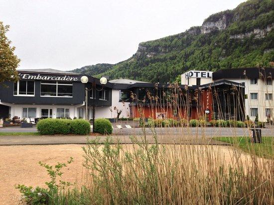 Hotel Restaurant de l'Embarcadere: vue façade