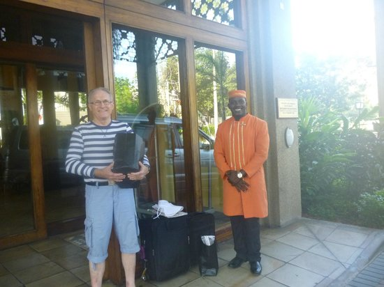 Southern Sun Dar es Salaam: The doorman who was most helpful and efficient helping us with the luggage etc.,