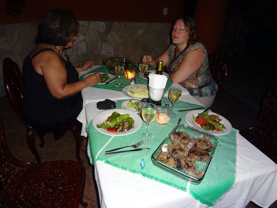 Xquenda Huatulco Spa: Gourmet private dinner by Antonio
