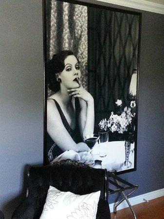 Manoir Becancourt: Chambre JAZZ