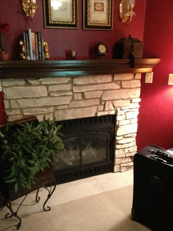 The Roost Bed and Breakfast: The Hunt Suite (Private Fireplace)