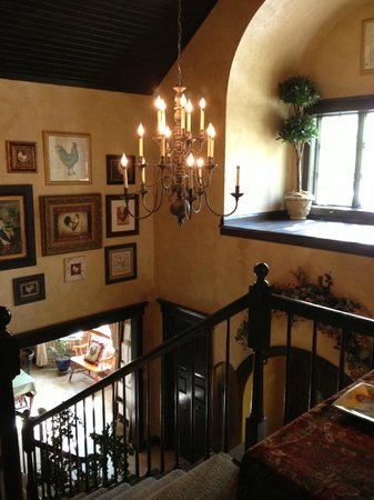 The Roost Bed and Breakfast: The Roost B&B (View from loft)
