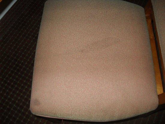 Days Inn Alexandria: stains on chair