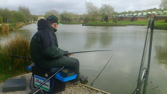 Parkdean - White Acres Holiday Park: Fishing!
