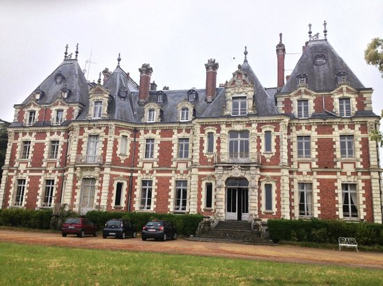 Chateau de la Jumelliere : View of the main entrance