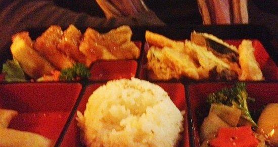 Sushi Den: Bento box