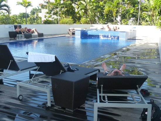 Hotel Tahiti Nui: Piscine de l'hôtel
