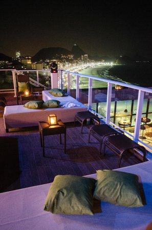 Deck Lounge Bar Pestana Rio Atlantica Rio De Janeiro