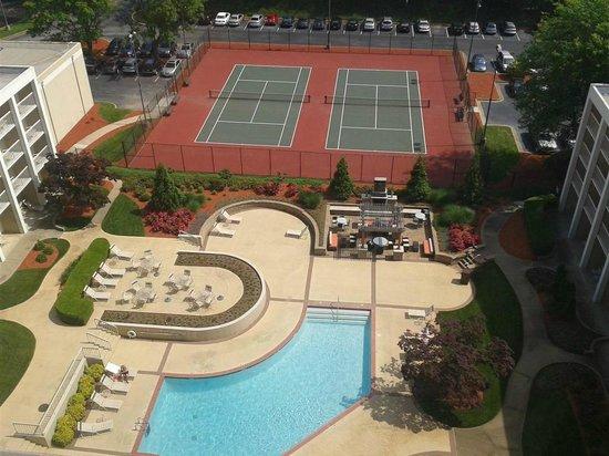 Atlanta Airport Marriott: Courtyard