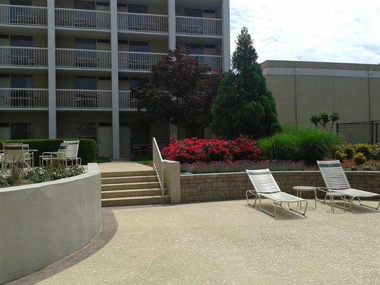 Atlanta Airport Marriott: Beautiful landscaping