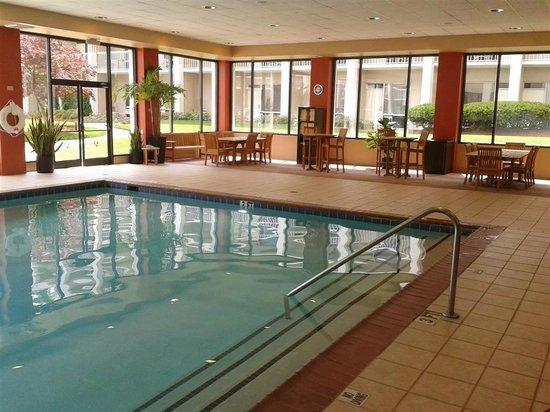 Indoor Pool Picture Of Atlanta Airport Marriott College Park Tripadvisor
