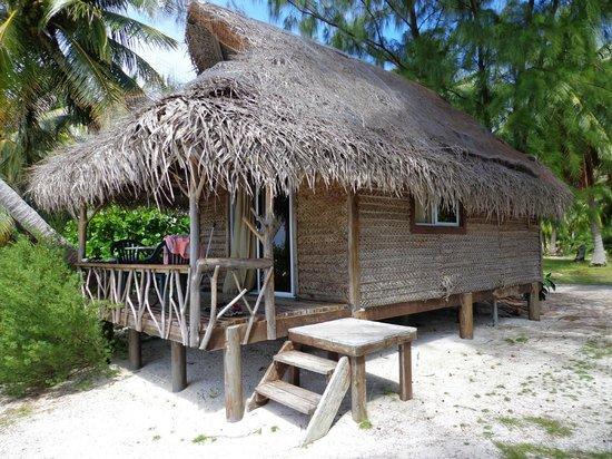 Tikehau Village: Our bungalow