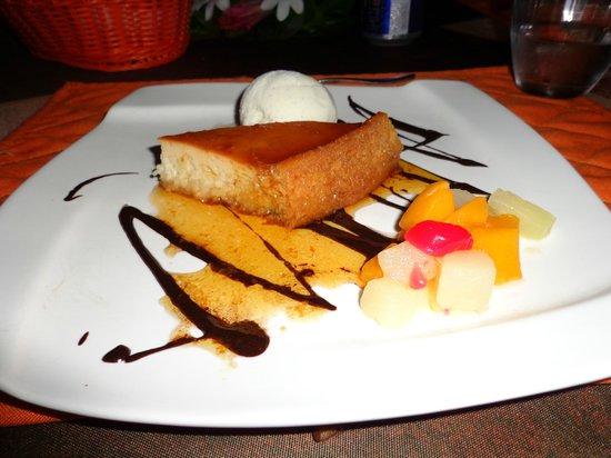 Tikehau Village: One of our desserts