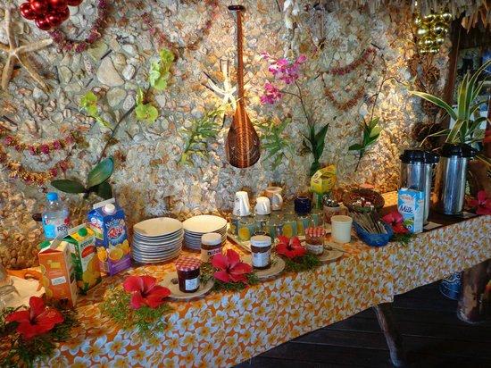 Tikehau Village: The breakfast