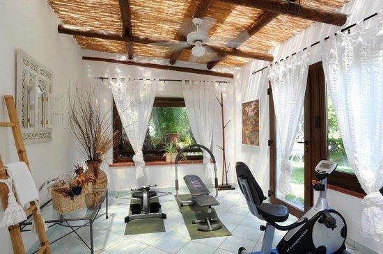 Hotel Villa Melodie : centro fitness