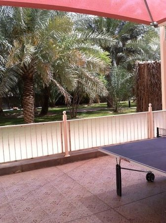 Asfar Resorts Al Ain: garden area