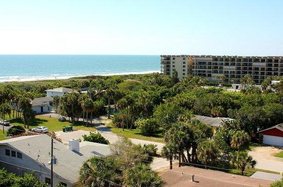 6f145ca77581 Hampton Inn Cocoa Beach Cape Canaveral  view from our room at Hampton Inn
