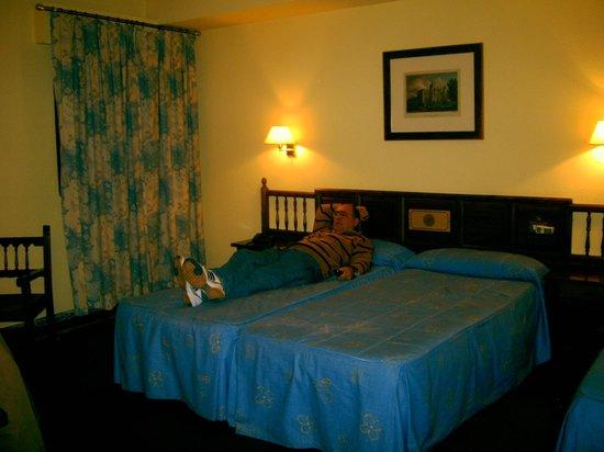 Hotel Mayoral: habitacion