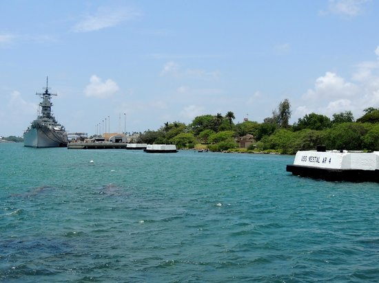 USS Arizona Memorial/World War II Valor in the Pacific National Monument: Pearl Harbour