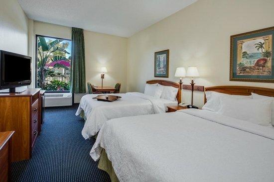 Hampton Inn Ft. Lauderdale-Commercial Blvd.: Double Queen Room