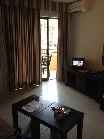 Apartments Flacalco Park: Wohnbereich