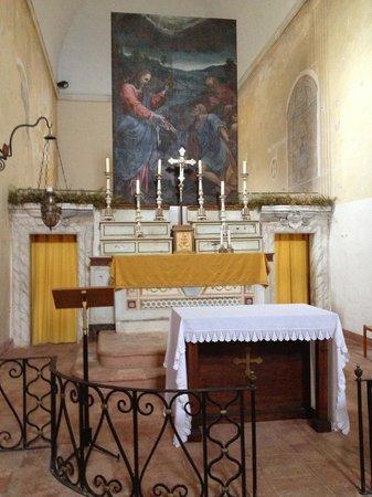 Residenza San Pietro Sopra Le Acque : La chiesetta consacrata dell'Ex convento