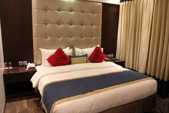 Madhuban Hotel: Chambre agréable
