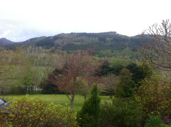 Maes-y-Garth: view from room