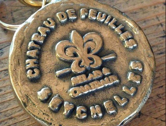 Le Chateau de Feuilles: porte clé