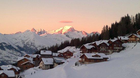 Hotel Emeraude: le mont blanc