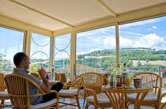Hotel Jollino: Sala Relax con vista panoramica