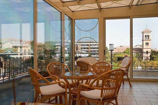 Hotel Jollino: Sala relax e tv