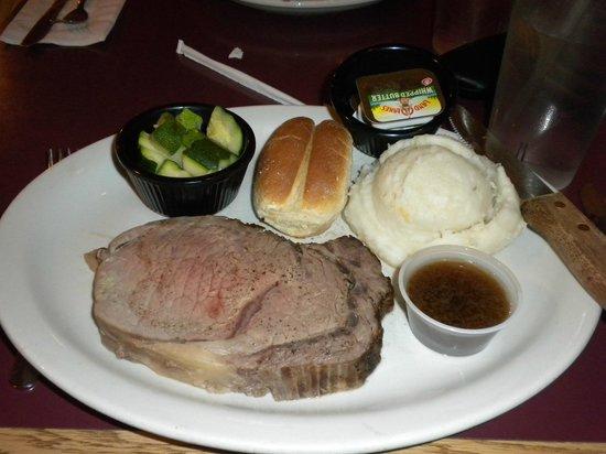 Beefside: My prime rib dinner