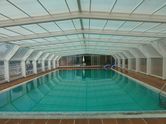 Quinta Do Estreito : Gedeckter Swiming Pool
