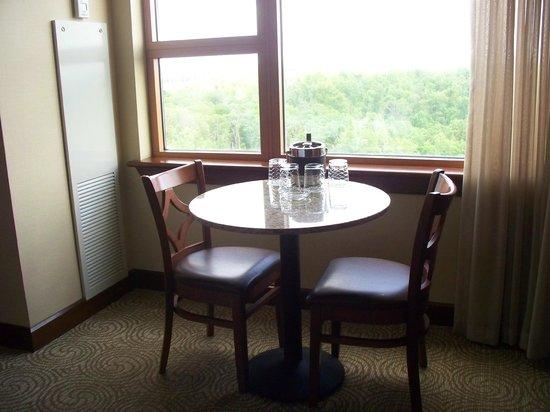 Downstream Casino Resort: Room and view