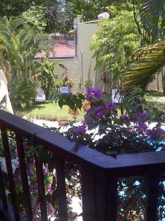 Hotel Giada: Balcony at the Giada