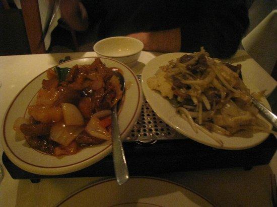 Ocean Cantonese Restaurant: plat principal