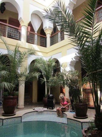 Riad Lena & SPA: intérieur du riad