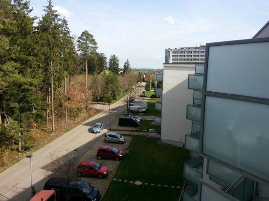DEKRA Congresshotel Wart : vue du balcon de coté