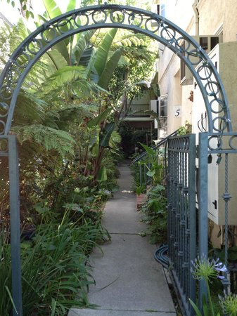 The Inn at 657: Gateway and gardens