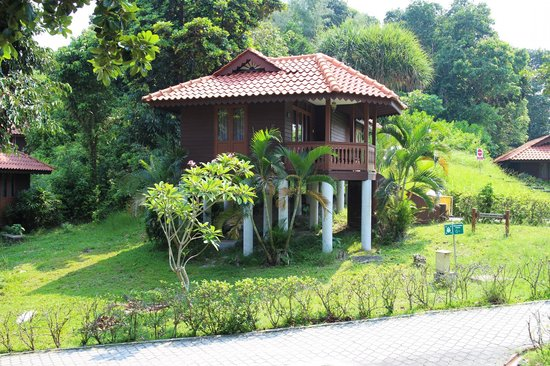 Sibu Island Resort: Our suites