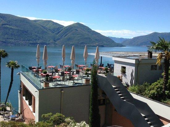 Hotel Casa Berno: Vue de la Terrasse du restaurant