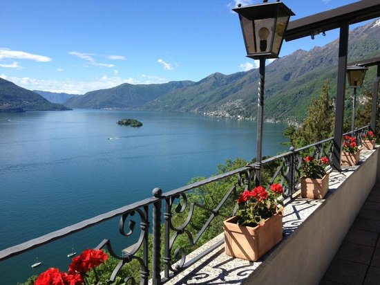 Hotel Casa Berno: Vue depuis la terrasse du petit-déjeuner