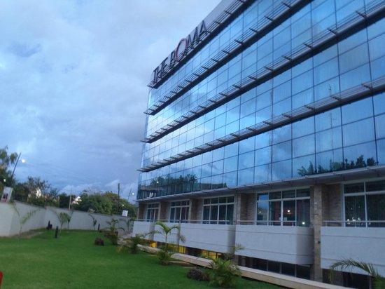 The Boma Nairobi: Front view BOMA Hotel