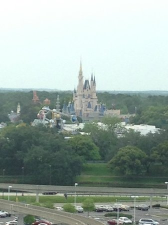 Bay Lake Tower At Disney's Contemporary Resort: Our view