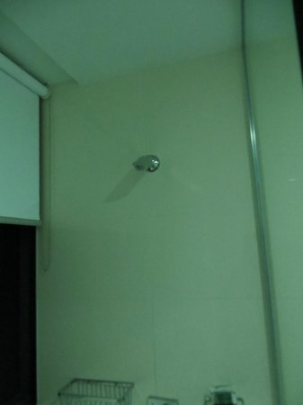 Meriton Serviced Apartments Brisbane on Adelaide Street: fixed shower