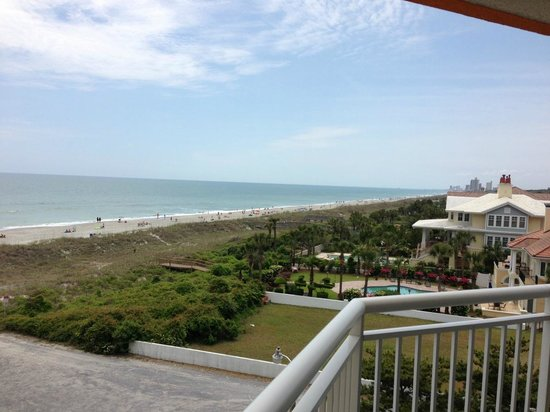 Dunes Village Resort: View from 4th floor looking South
