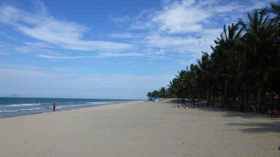 Cua Dai Beach : Kein überlaufener Strand :-)